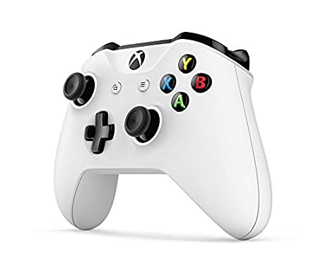 Microsoft - Mando Inalámbrico, Color Blanco (Xbox One) Bluetooth