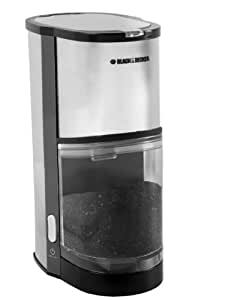 Black And Decker Coffee Maker Will Not Turn On : Amazon.com: Black & Decker CBM205 Coffee Bean Mill, Stainless Steel: Coffee Grinders: Kitchen ...