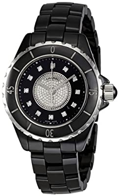 Chanel Women's H2122 J12 Diamond Dial Watch