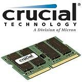 Crucial 512MB 144 Pin SO DIMM SDRAM Memory