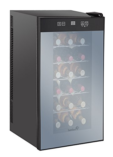 ivation-18-bottle-wine-cooler-with-digital-temperature-display-thermoelectric-counter-top-freestandi