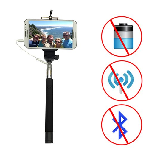 car cradles mounts looq dg 2 looq third generation selfie monopod patented wired extendable. Black Bedroom Furniture Sets. Home Design Ideas