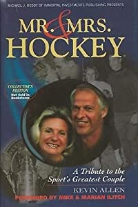 Gordie Howe & Colleen Howe Dual Signed Mr & Mrs Hockey 2004 Hardback Book JSA by The Steel City Auctions Gallery