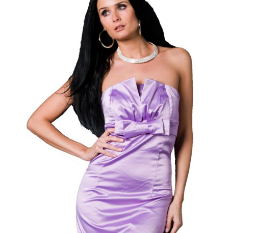 celebrity style lilac pencil bandage strapless boob tube dress mini evening cocktail club dress size 12 Uk slim bandage pencil party wedding outfit party wear