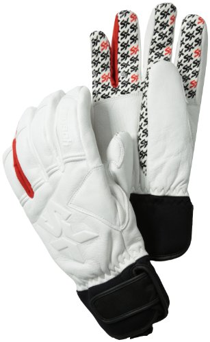 B00AA26Z3Y Reusch Snowsports Sasuka Glove, White, Large
