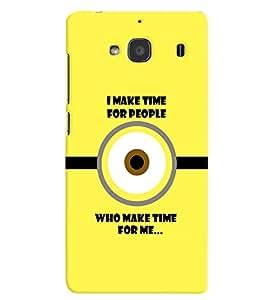 PRINTVISA Quotes Sarcastic Case Cover for Xiaomi Redmi 2S