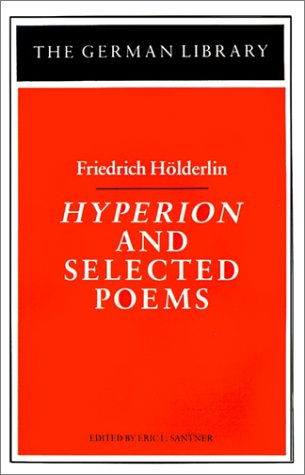 friedrich hlderlin essays and letters on theory