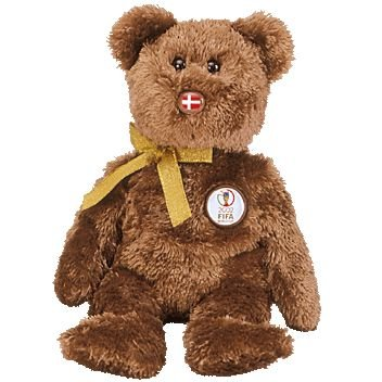 TY Beanie Baby - CHAMPION the FIFA Bear ( Denmark ) [Toy]