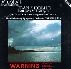 Jean Sibelius - Neeme Järvi - Symphony No. 4 In A Minor - Canzonetta - The Oceanides