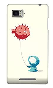 The Fappy Store balloon Back Cover for Lenovo K910