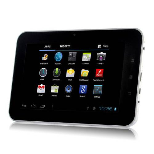 7-Inch Android 4.0 4 GB Internet Capacitive Touchscreen Tablet (Black)