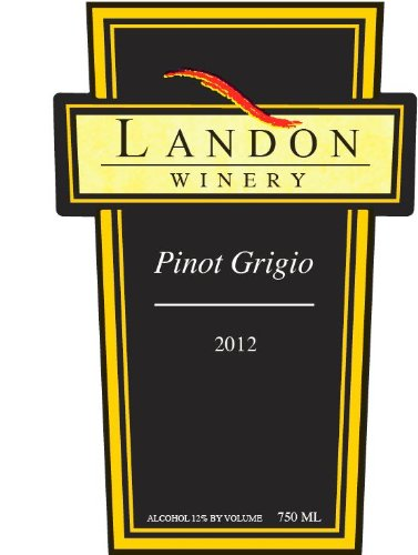 2012 Landon Winery Pinot Grigio, Texas 750 Ml