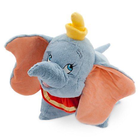 Stuffed Dumbo the Elephant Pillow Pet Gift for People Who Love Disney
