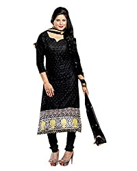 YOUR STYLE VOL.3 BLACK EMBRODERY WORK MATERIAL BY BALKRISHNA FABRICS
