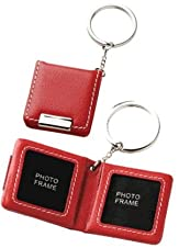 Keepsake Leather Keychain Photo Holder - VW602C