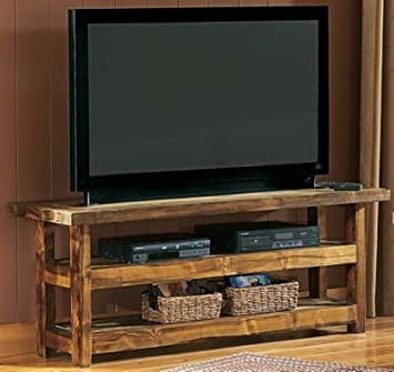 Mountain Woods Furniture Wyoming Collection TV Stands - Orange
