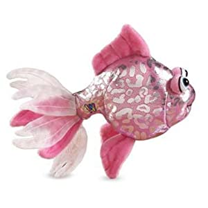 Lil'Kinz Mini Plush Stuffed AnimalPink Glitter Fish