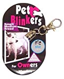 Blue and White Small Pet Blinker For Pets & People