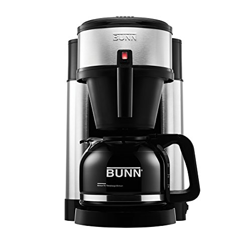 bunn nhs velocity brew 10 cup home coffee brewer reviews