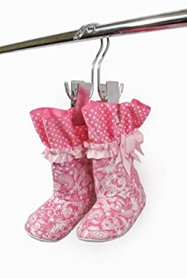 Baby Shoe Storage--Baby Boot Hanger Holder--Infant, Toddler, Child Shoe Storage (SET OF 3)
