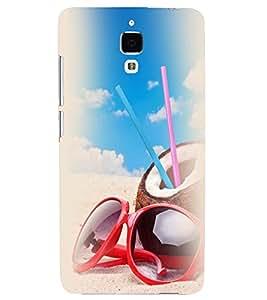 Printvisa Beach Enjoyment Stuff Back Case Cover for Xiaomi Redmi Mi4::Xiaomi Mi 4
