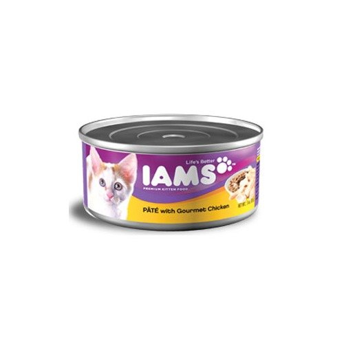 Iams Kitten Premium Pate Gourmet Chicken Kitten Food