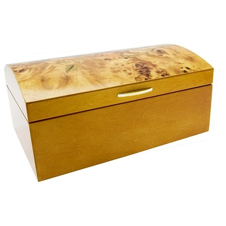 Mele & Co Julia Marquetry Wood Chest Jewellery Box