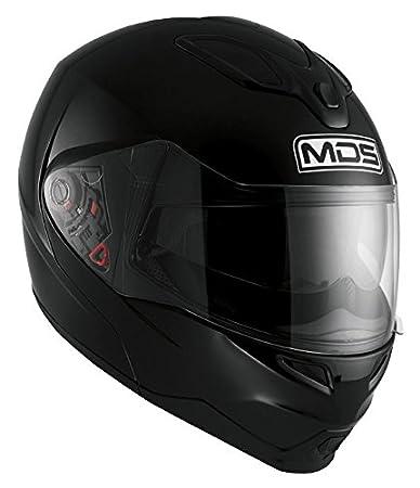 AGV Helmets 2002A4D0_001_L Casque Intégral MD200 MDS E2205, Noir, L