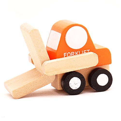 Mini Wooden Car Fork Lift,T00077