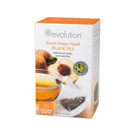 Отзывы Revolution Tea - Sweet Ginger Peach Tea, 16 bag