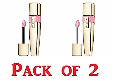 L'oreal Paris Colour Riche Caresse Wet Shine Lip Stain, 183 Pink Resistance, 0.21 Fluid Ounce (Pack of 2)