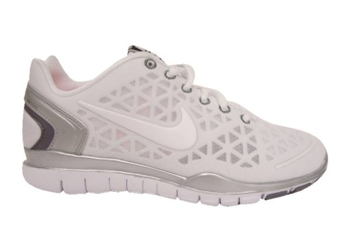 95f766b37da01  1 Nike Women s NIKE FREE TR FIT 2 WMNS RUNNING SHOES 7.5 (WHITE WHITE MTLLC  SILVER CL GRY)