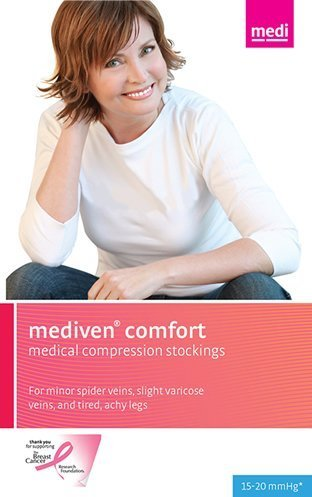 Medi comfort Pantyhose 15-20mmHg Closed Toe, V, Natural by Medi-USA online bestellen