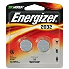 Energizer (2032BP2) 2-Pack Zero Mercury 2032 Lithium 3.0 Volt Coin Battery