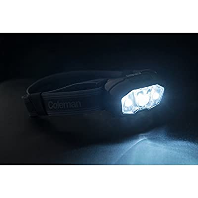 Coleman CXO+ 200 LED Headlamp with Battery Lock - Black
