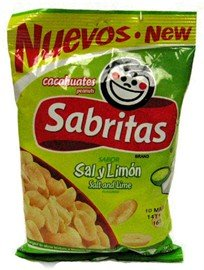 Amazon.com : Frito Lay Sabritas Salt & Lime Flavored Peanuts, 1.625 Oz ...