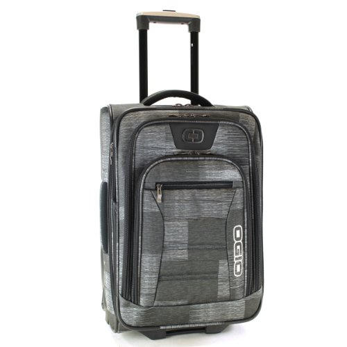 OGIO Luggage Frenzy 21-Inch Barry On Bag, Charcoal Pattern, One Size B008RTO6V0