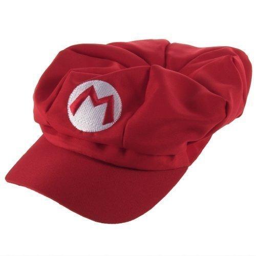 Thematys Nintendo Super Mario Mütze Kostüm Cap Hut