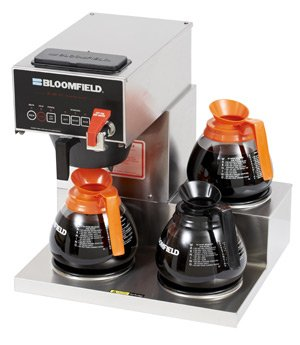 Bloomfield 1072D3F E.B.C Coffee Brewer, Automatic, Three Warmer, 17