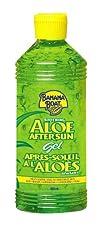 Banana Boat Aloe Vera Sun Burn Relief Gel 16-Ounce Bottles