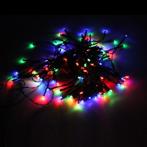 Solar Powered 100 Led String Fairy Xmas Garden Light (Rgb, 200)