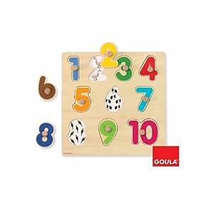 Diset 53074 - Puzzle Numeros