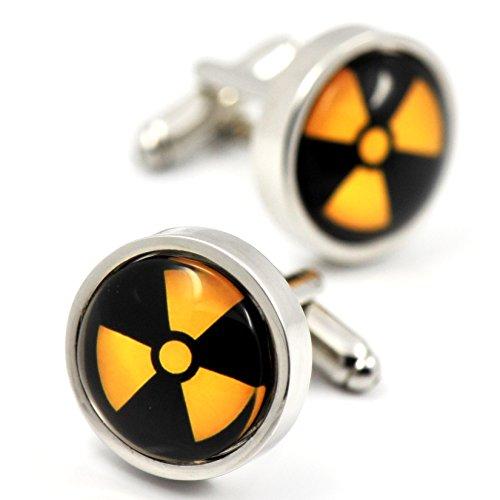 MFYS Jewelry  原子力 放射能 核爆弾 カフス(カフスボタン・カフリンクス)  専用ジュエリーBOX付