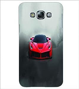 PRINTSWAG RED CAR Designer Back Cover Case for GRAND GALAXU GRAND MAX