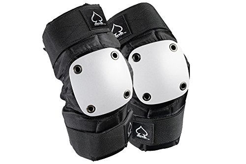 Pro-tec Park Elbow Pad, Black/White, Large