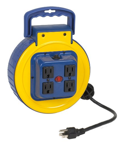 This Best Selling Alert Stamping 3525AC Retractable Power Cord Reel