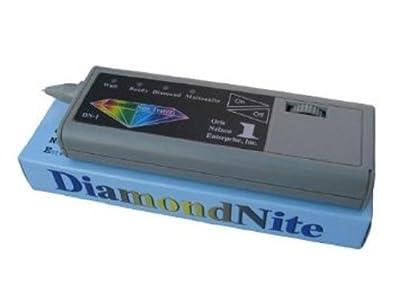 Mizar Diamondnite Tester, Puritest Gold/silver Acid Test, Digiweigh Scales- Complete Set Test Accessories