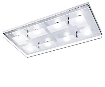 Paul neuhaus 6107 17 luminaire de plafond led 3 3 w chrome for Paul neuhaus luminaire