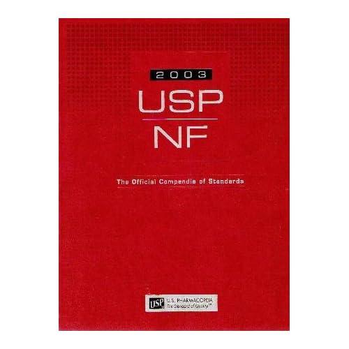 United States Pharmacopeia-National Formulary (USP26 NF21