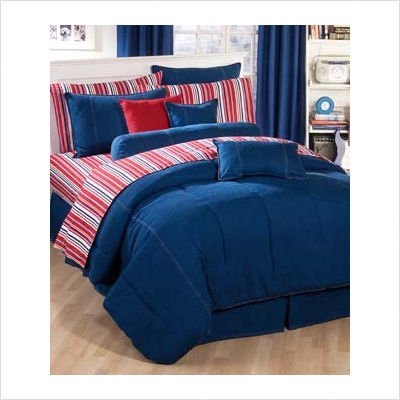 American Denim Queen Comforter Only